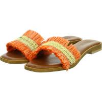 Pantoletten Orange