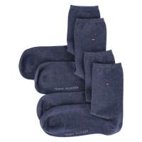 Socken Blau