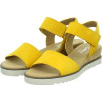 Sandaletten Gelb